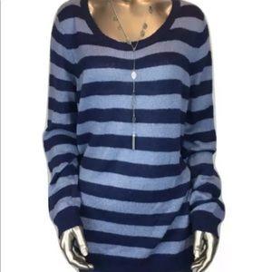 Lauren Conrad Striped tunic sweater